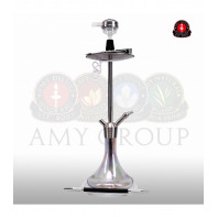 Кальян AMY Deluxe — Stick Steel «SS09» Crystal - 75 см