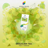 Табак для кальяна Spectrum - Brazilian tea (Чай с лаймом) 100г